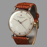 Vintage 18K Vacheron & Constantin Wrist Watch