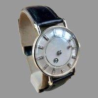 14K White Gold LeCoultre - Vacheron & Constantin Galaxy Mystery Dial Wristwatch