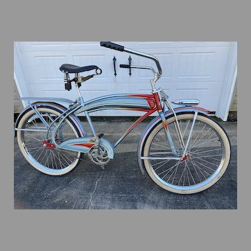 1939 Huffman Airflyte Twin-flex Restored Bicycle