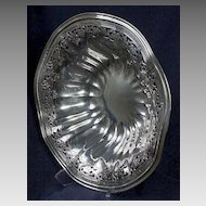 Frank M. Whiting Sterling Pierced Bowl