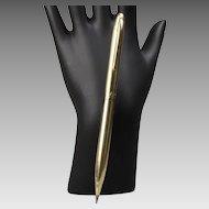 Early Model Solid 14K Gold Sheaffer Pencil White Dot