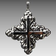 1983 Sterling Silver Reed & Barton Christmas Cross
