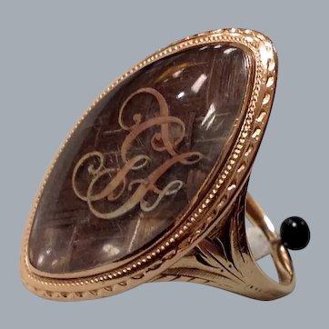 A Georgian Mourning Ring. Circa 1791