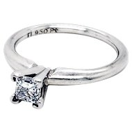 Ritani Platinum Diamond Ring