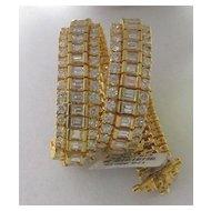 14K Yellow Gold Diamond Bracelet