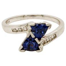 Tanzanite 14 Karat Gold Ring