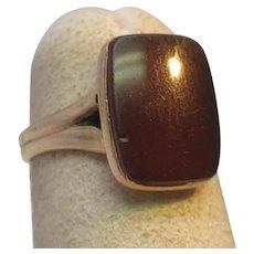 Victorian Carnelian Ring 14K Yellow Gold