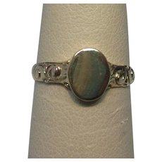 1910 10K Yellow Gold Signet Ring
