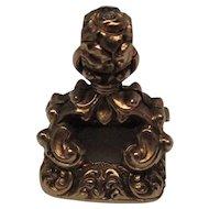 Victorian Chalcedony 14 Karat Gold Fob