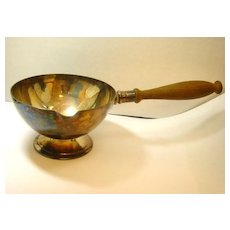 c. 1910 Apollo Studios Silver Serving Bowl with Handle