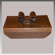 Vintage Hammered Copper Cigarette Candy Box Hand Crafted 1940s