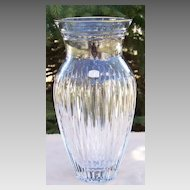 "Waterford 10"" Marquis Hanover Gold Vase Presentation Piece"