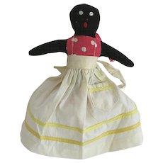 Black Americana Mammy Doll Toaster Cover Folk Art