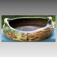 Early Roseville Imperial I Console Bowl circa 1921