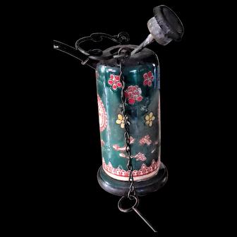 Old Chinese Opium Smoking Pot Water Pipe c1900