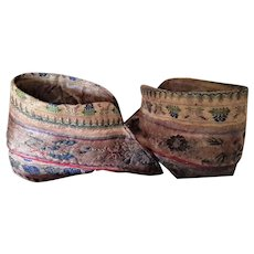 Old Vintage Chinese Lotus Slippers for Bound Feet