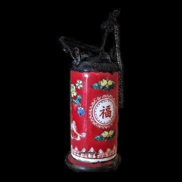Old c 1900's Small Chinese Ceramic Opium Pot