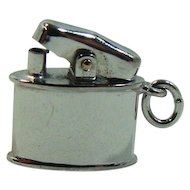 Cute Vintage Moveable Sterling Signed Lighter Charm
