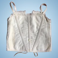 Antique Jumeau Corset for Large Doll