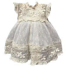 "6"" Tiny Gorgeous Lace Dress for Jumeau Bru Steiner"