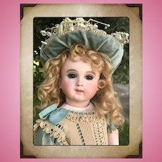 "GORGEOUS 15"" French Schmitt Et Fils Antique Bebe Doll Size 1"
