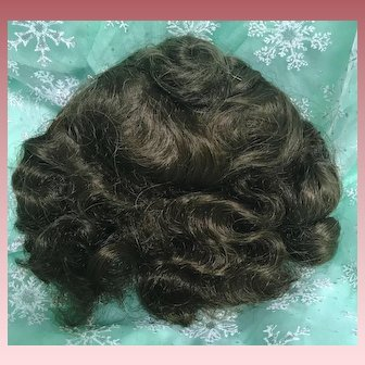 Synthetic Brown Wig for Antique or Vintage Doll