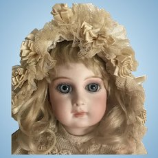 SUPER Sale* Jumeau Portrait French Bebe Doll All Antique Clothing and Shoes Original Wig