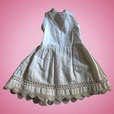 Gorgeous Antique Doll Slip Undergarment