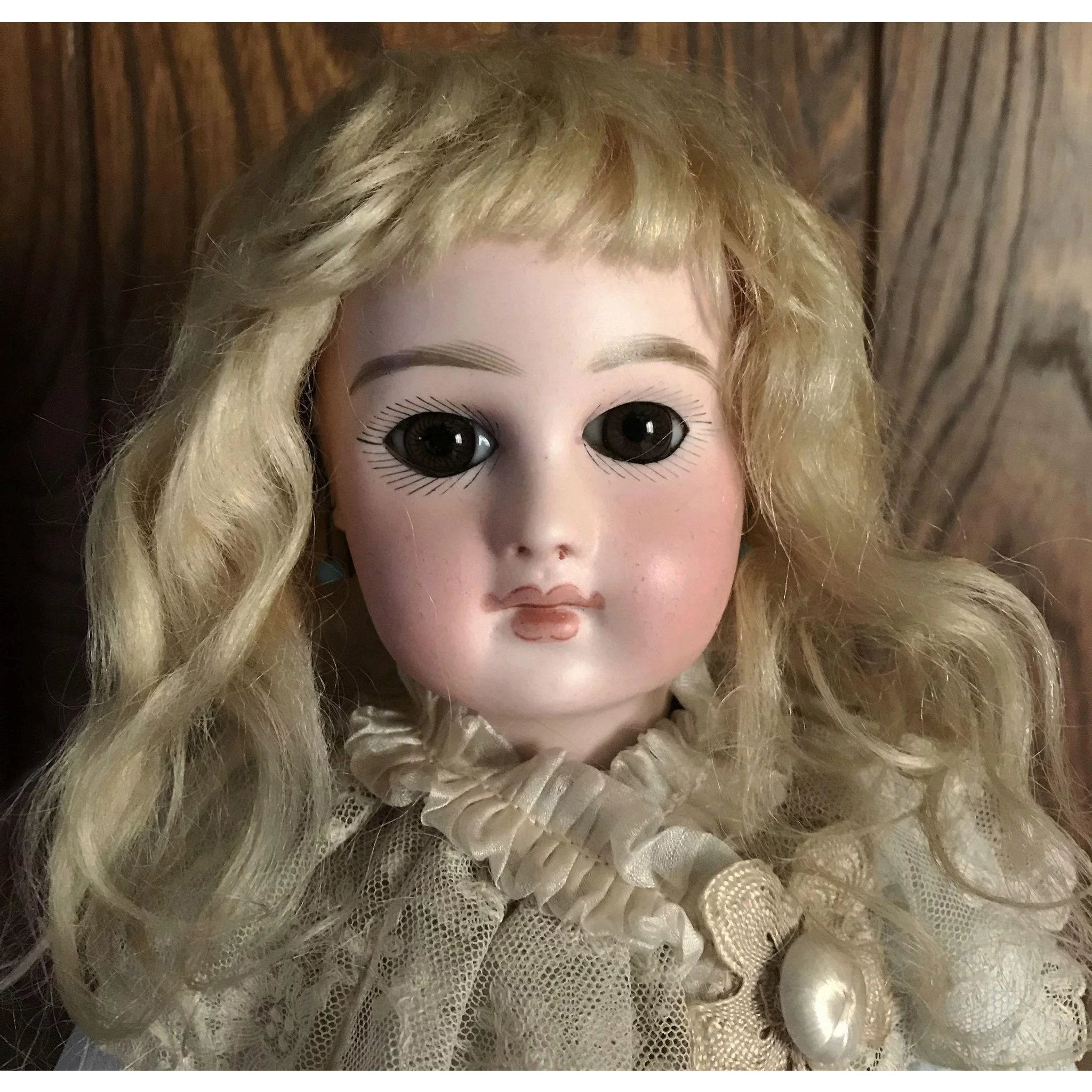 Vintage Antique Blonde Doll Wig 8 Circ Little Darlins Ruby Lane
