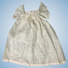Sweet Antique Doll Dress Bonnet for Small Doll