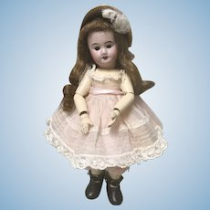 Adorable Tiny Antique French SFBJ Doll