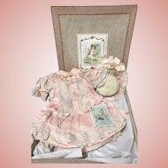 Extremely Rare & FABULOUS Presentation Dress w/ Bonnet in ORIGINAL Store Box!!