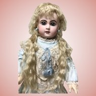 Antique Blonde Extension Mohair Doll Wig TLC