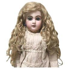 SUPERB Antique Blonde Extension Mohair Doll Wig