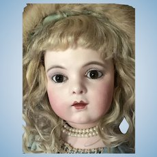 Sweet Brown Eyed Bru Jne 5 Antique Doll Great Christmas Gift!