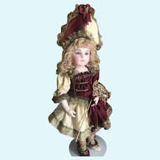 "Polichinelle or Party Dress for a 16"" Antique Jumeau Bru Steiner Doll"