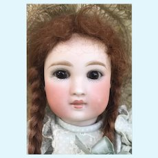 Sweet Faced Solid Dome German Doll Belton Type