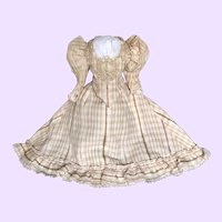 Beautiful  Dress for Antique French Fashion Doll