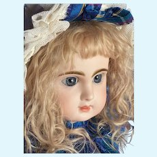 """Sweet Jumeau Reclame Doll 20"""" Stamped body"""