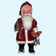 Awesome Santa Claus Doll Figure Belsnickle Christmas