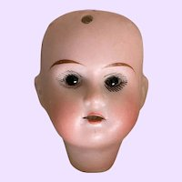 Tiny Antique Recknagel Doll Head Only