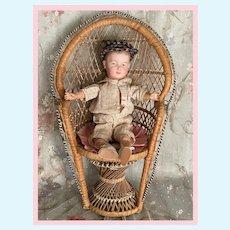 Sweet Wicker Doll Chair