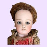 Pretty Antique Fashion  Jumeau Doll Stamped Body