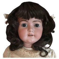 "Huge 35"" Blue Eyed Antique Simon Halbig 1078 Doll"