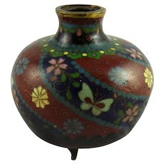 Japanese Meiji Era Footed Vase