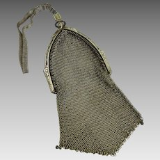Antique Edwardian Chain Mesh Bag