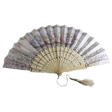 Antique Victorian Hand Fan