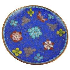 Vintage Chinese Cloisonne Pin Dish