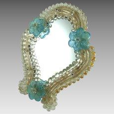 Vintage Murano Glass Vanity Mirror