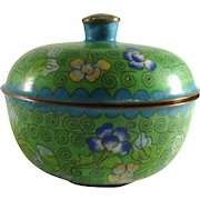 Vintage Chinese Export Cloisonne Box